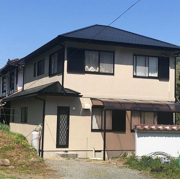 広島県広島市 外壁塗装 屋根塗装 オートンイクシード 無機系塗料 ダイヤ スーパーセランフレックス (1)