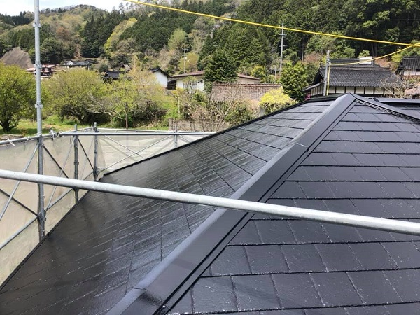 広島県広島市 外壁塗装 屋根塗装 縁切り 遮熱塗料 アドグリーンコート 日本中央研究所 (2)