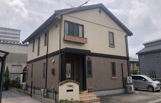 5月施工物件ご紹介 西条町K様邸 DA○W○ハウス物件 ダブルトーン