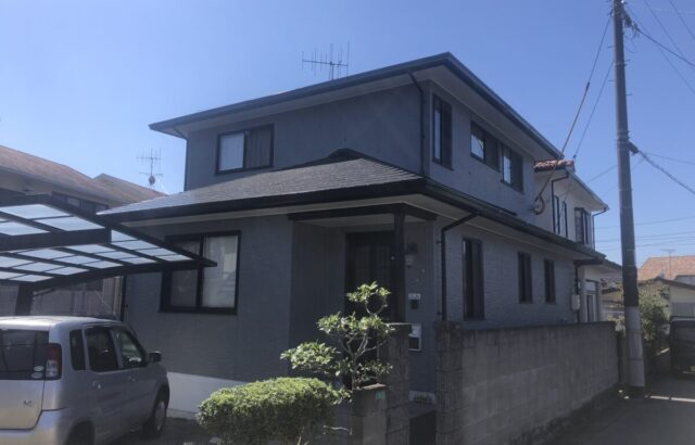9月施工物件のご紹介!!東広島市八本松飯田 外壁塗装 屋根塗装